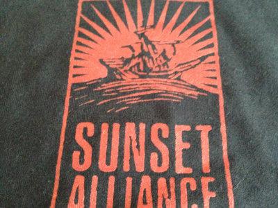"""Sunset Alliance """"Red Sea"""" Logo Tee main photo"""