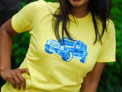 Yellow Lazër 'Twatobahn' T-Shirt main photo