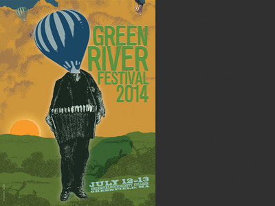 "Green River Festival 2014 - ""Balloonhead"" Poster main photo"