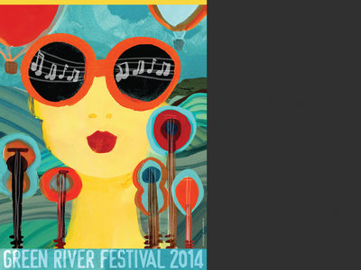 "Green River Festival 2014 - ""Music Lady"" Poster main photo"