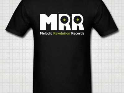 Unisex Official MRR Logo: Black T main photo