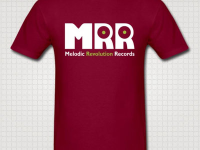 Official MRR Logo Burgundy T main photo