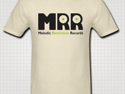 Official MRR Logo: Khaki T-Shirt main photo