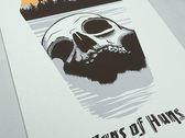 "Sons of Huns ""Willamette Skull"" Silk-screened Poster photo"