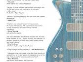 "Trey Gunn ""Scores"" book + digital edition (top side - 5ths Tabs) photo"