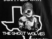 """Don't Mess With The Ghost Wolves"" Tote Bag - New! photo"