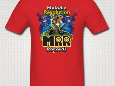 MRR Fantasy Design Red T-Shirt main photo