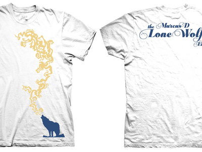 Limited Edition Lone Wolf LP T-Shirt (White) main photo