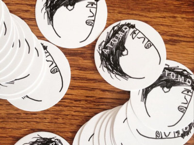 ATOMO face sticker (x5) main photo