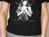 "T-Shirt Dysilencia ""Ceux qui marchent debout"" Black photo"