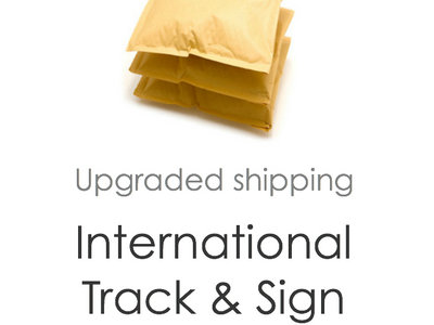 Shipping upgrade: International Track & Sign main photo