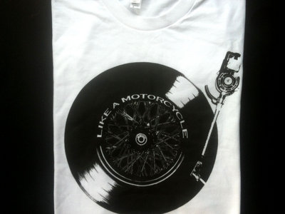 Record/Motorcycle Wheel T-Shirt main photo