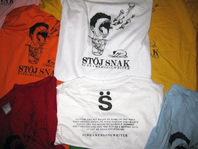 ScreamerSongwriter Mouth Portato T-shirt main photo