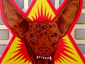 "Magnetic Eye Records Pharaoh Hound | 4"" X 4"" Die Cut Vinyl Sticker photo"