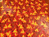 "Magnetic Eye Records Pharaoh Hound   4"" X 4"" Die Cut Vinyl Sticker photo"