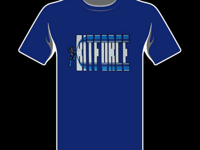 Blue Mega Force T-Shirt main photo