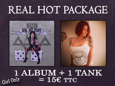 "Real Hot Summer Package - ""Real Hot Stuff"" album (Compact Disc) + White Tank (only for girl) main photo"