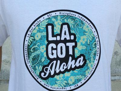 """LA Got Aloha Full Circle"" Tee (Mens) White main photo"