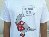 """Talk Pidgin"" Tee (Mens) White photo"