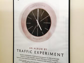 Large Format (A1) Poster 'Blue Suburbia Clock' photo