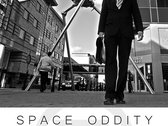 **OFFER** - 2 Large Format (A1) Posters 'Space Oddity' & 'Blue Suburbia Clock' photo