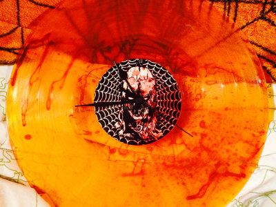 "Shadow Windhawk 12"" 'Jack O' Lantern Orange' Vinyl Wall Clocks main photo"
