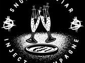 Snort Caviar Inject Champagne T-shirt photo