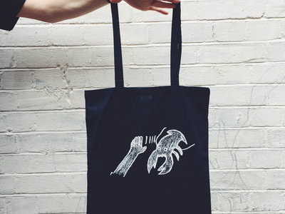 Lobster Theremin Tote Bag - Navy main photo