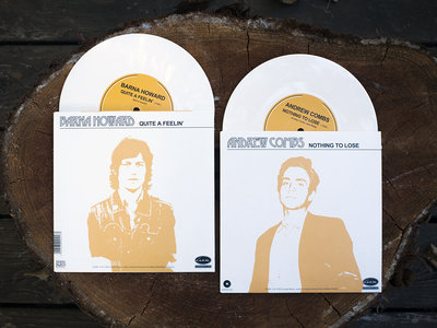 "Andrew Combs / Barna Howard - Imported 7"" Split main photo"