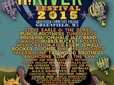 Green River Festival 2015 poster (with artists) main photo