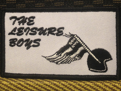 """The Leisure Boys Patch (2""""x3.5"""") main photo"""