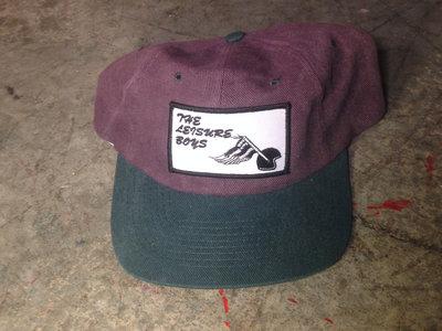 The Leisure Boys Baseball Hat (purple/green) main photo