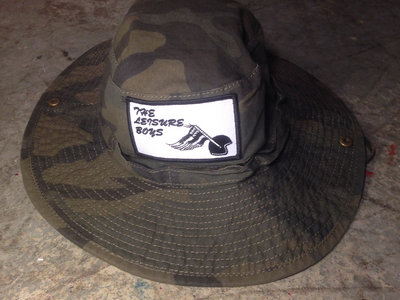 CAMO BUCKET HAT main photo