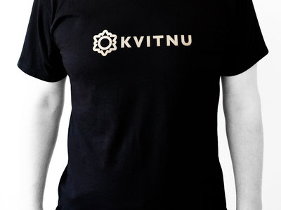 Black Kvitnu Logo Unisex t-shirt main photo