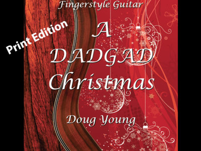 A DADGAD Christmas - Printed Tab Book with an Enclosed CD main photo