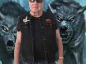 BLACK MOJAVE LORDS DENIM VEST photo