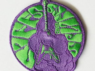 "Riffs and Spliffs 3"" Embroidered Patch main photo"