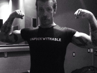 """UNFUCKWITHABLE"" T-SHIRT main photo"