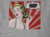Mens T-Shirt Debut Album Cover - Garage Floor Gray photo