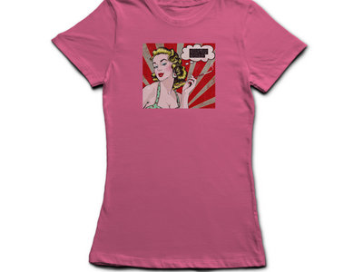 Ladies T-Shirt Debut Album Cover Pink main photo