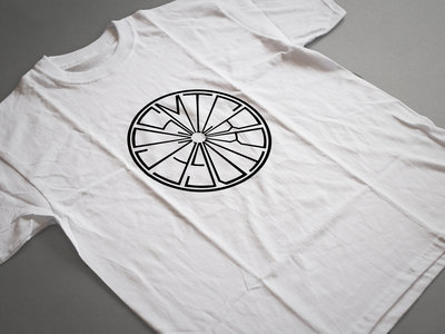 Label Logo T Shirt - White main photo