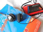 Original Vintage 1980s Sony Walkman WM-22 (incl. 3 Cassette Albums  -  ELSVREC015, 21, 25) photo
