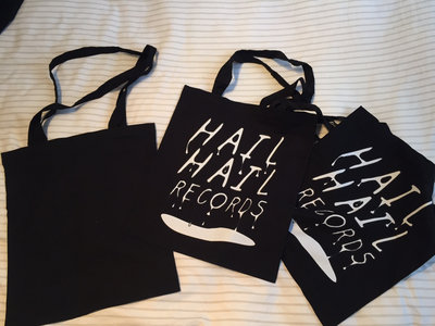 Organic 'Hail Hail' Cotton Tote Bag! main photo