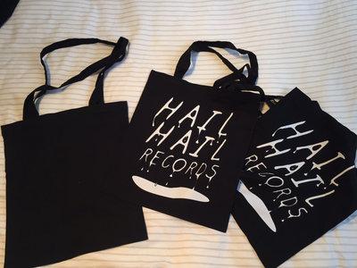 Organic 'Hail Hail' Cotton Tote Bag! main photo