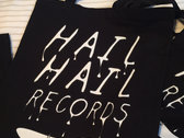Organic 'Hail Hail' Cotton Tote Bag! photo
