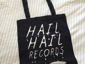 Organic 'Hail Hail' Cotton Tote Bag! photo