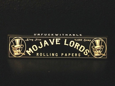 Mojave Lords® Rolling Papers - Single Pack main photo