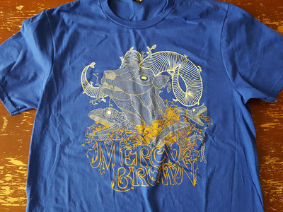 Goat Tree Shirt (Blue) main photo