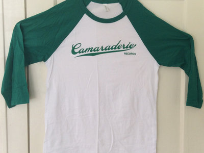 Green and White Baseball Tee main photo