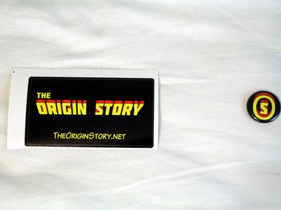 """""""The Origin Story"""" Sticker (2-pack) main photo"""